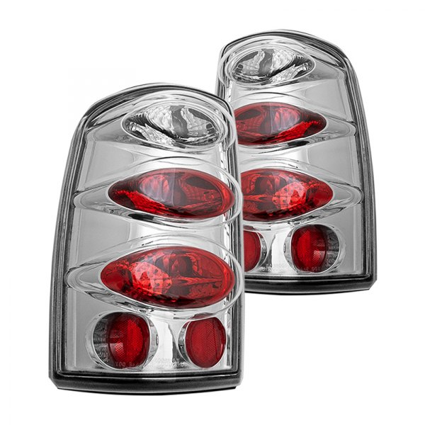 Winjet Altezza Tail Lights GMC Yukon (2000-2006) Chrome/Clear or Black/Smoke