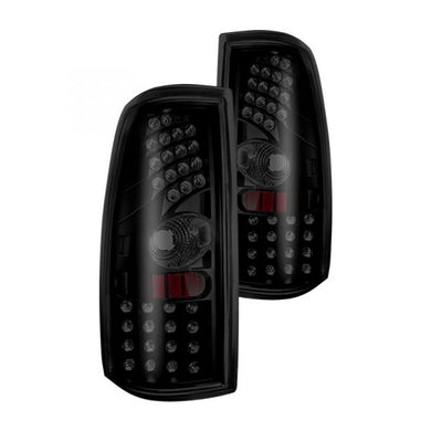 Winjet LED Tail Lights GMC Sierra (1999-2003) Smoke or Clear