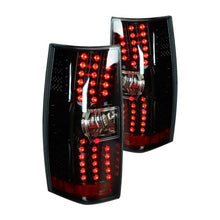 Load image into Gallery viewer, Winjet LED Tail Lights Chevy Suburban / Tahoe (2007-2014) Black / Smoke or Chrome / Red
