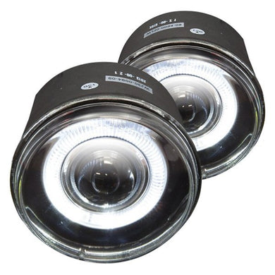 Winjet Fog Lights Jeep Commander (2006-2010) Halo Projector or OE Replacement