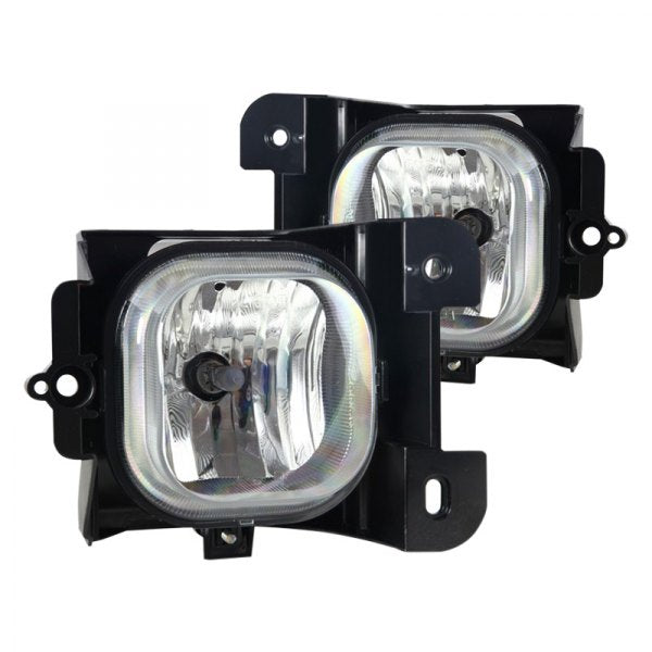 Winjet Replacement Fog Lights Ford Ranger (2004-2005) Clear