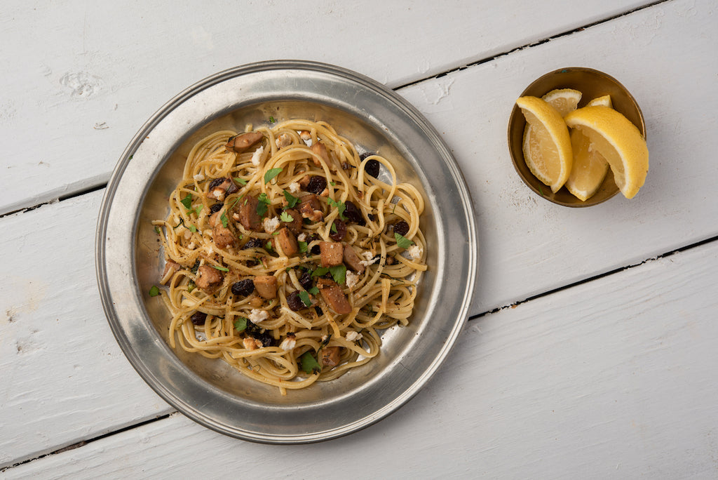 Linguine with Smoked Geoduck and Fennel