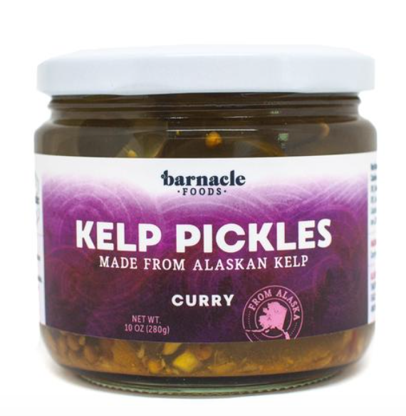 Curry Kelp Pickles