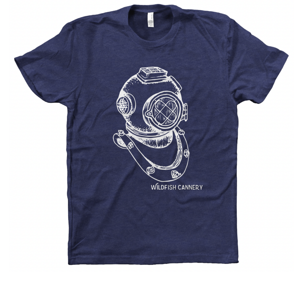 Dive Helmet T-Shirt
