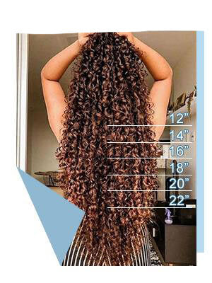 Sizes of Curly Hair Extensions Wigmfg