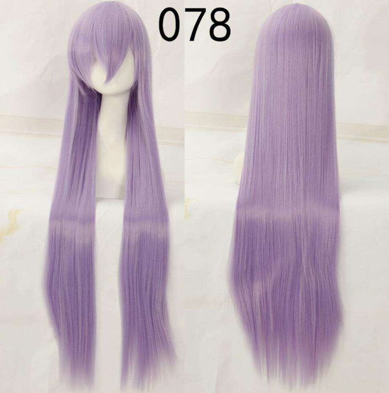 100cm 40inch Cosplay Wigs Long Straight Wig for Costume WigMFG