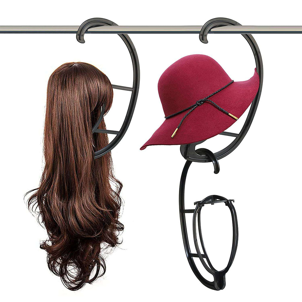 2 Piece Wig Hanger Wig Accessory Wig Stand, Portable Wig Stand, Wig Dryer WigMFG