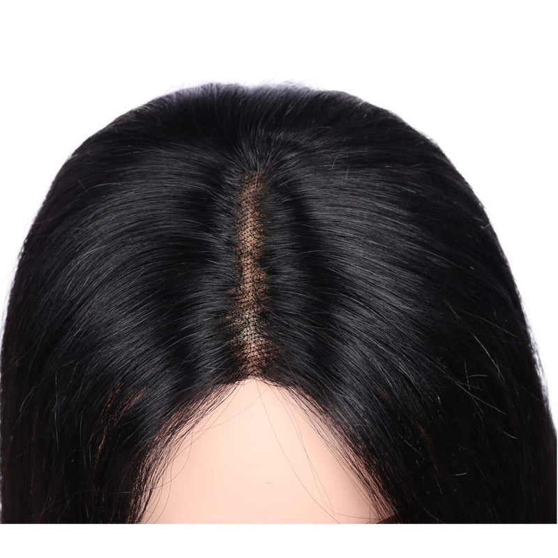 Lace Front Human Hair Wigs Short Bob Wigs 13*1*1 Natural Scalp Top Look
