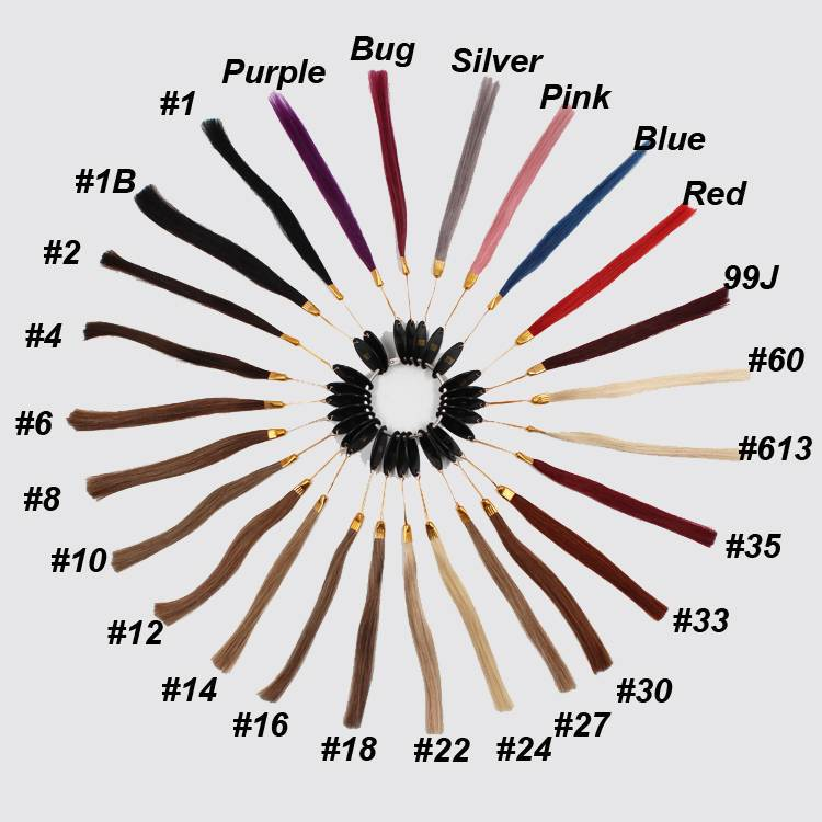 Human Hair Color Chart Wigmfg