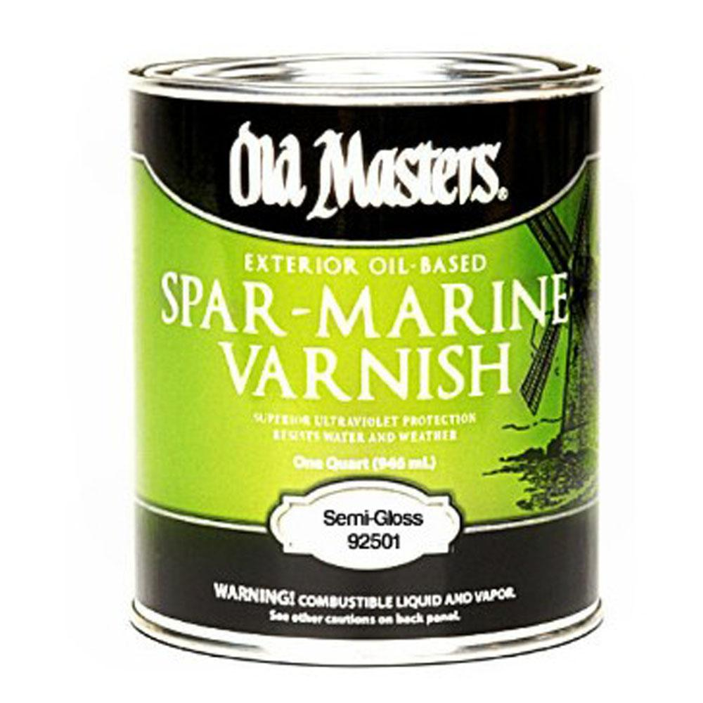 Old Masters Oil Based Exterior Spar Marine Varnish available at JC Licht in Chicago, IL.