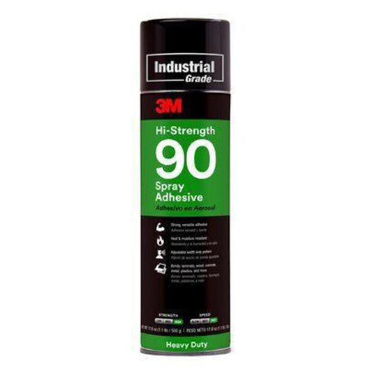3M 90 Adhesive spray, available at JC Licht in Chicago, IL.