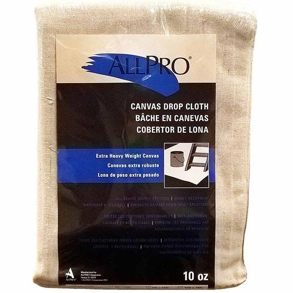 Allpro 10oz canvas drop cloth, available at JC Licht in Chicago, IL.