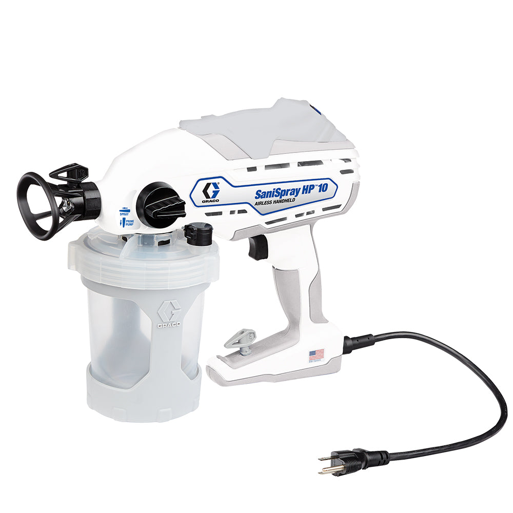 Graco SaniSpray HP 10 - Corded Handheld Sprayer, available at JC Licht in Chicago, IL.