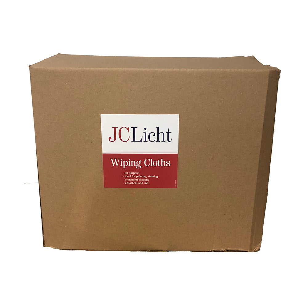 50lb Box of Rags, available at JC Licht in Chicago, IL.