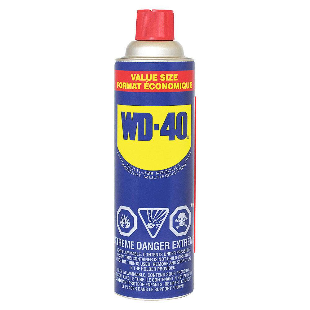 WD-40 lubricant, available at JC Licht in Chicago, IL.