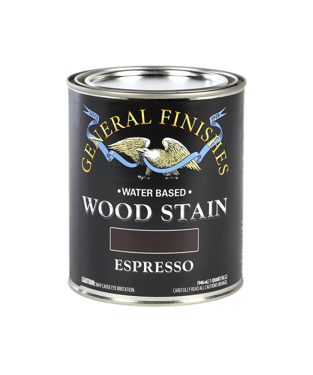 General Finishes water-based wood stain, available at JC Licht in Chicago, IL.