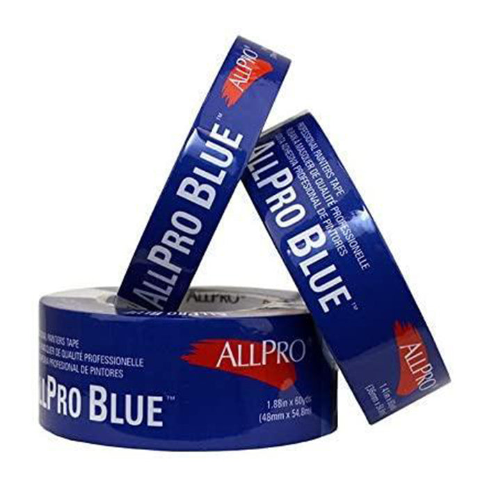 Allpro blue masking tape, available at JC Licht in Chicago, IL.