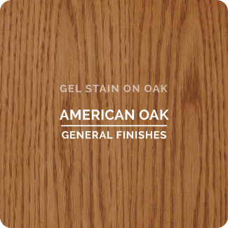 General finishes gel stain, available at JC Licht in Chicago, IL.
