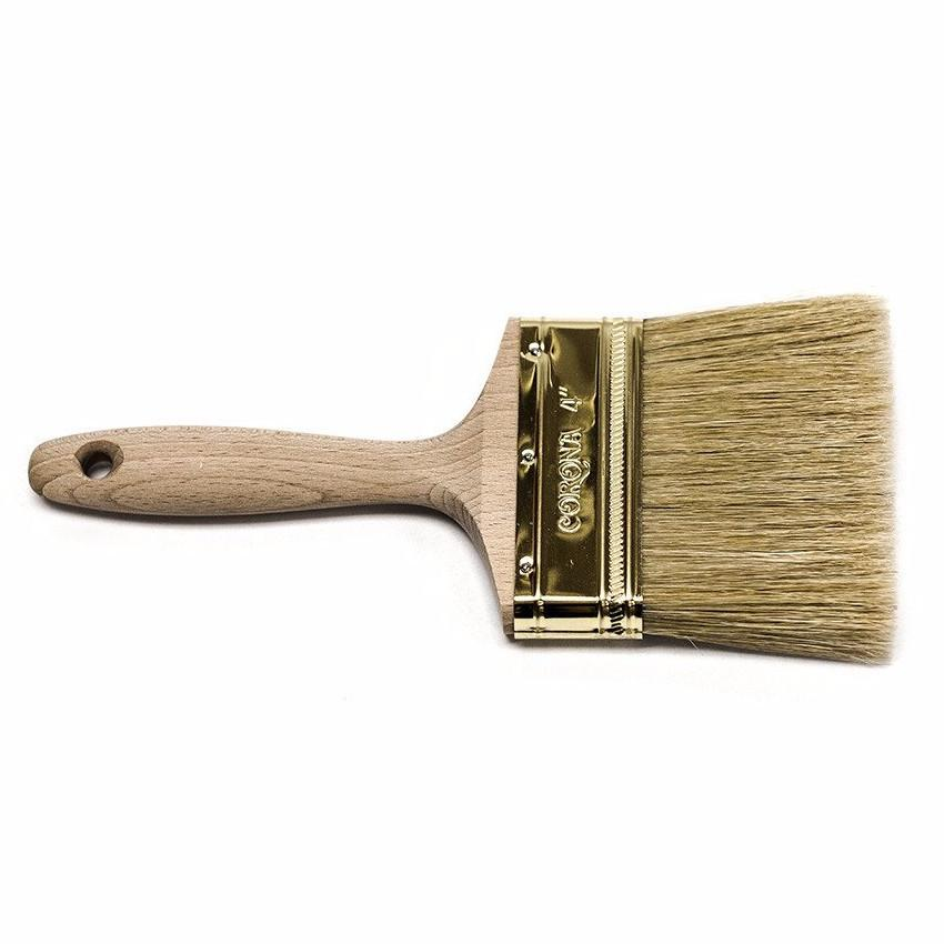 "Corona Stain•Eze™ 4"" Pure Bristle Brush"