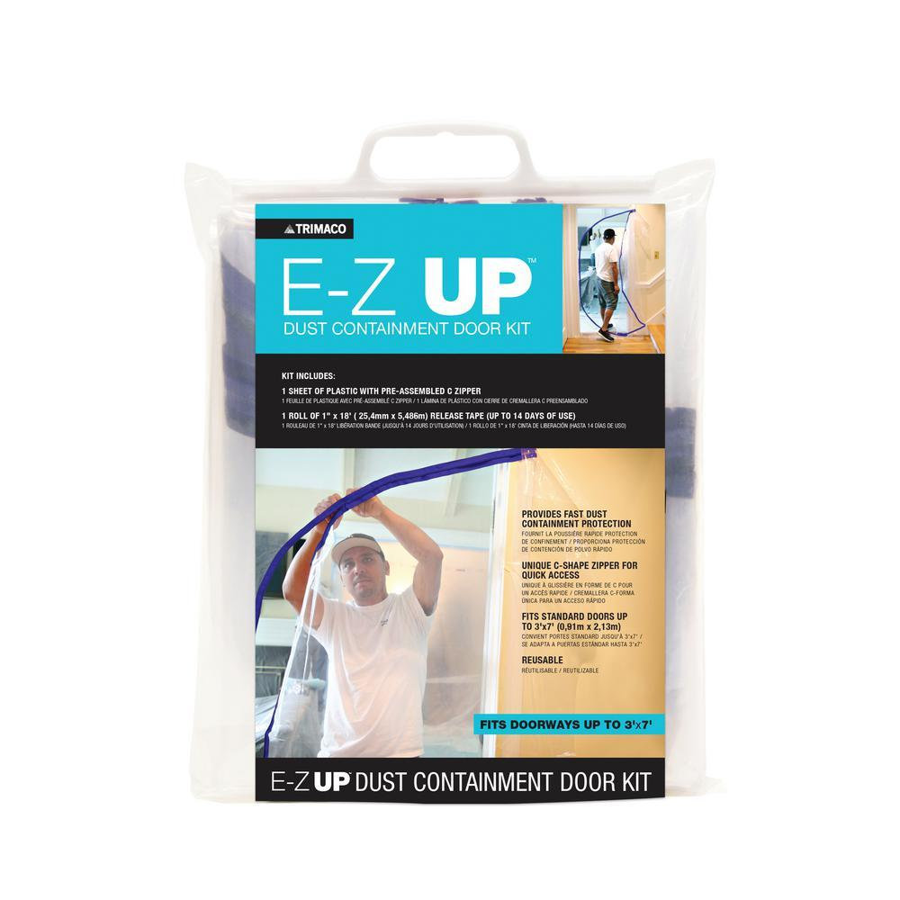 E-Z Up Door Dust Containment kit JC Licht