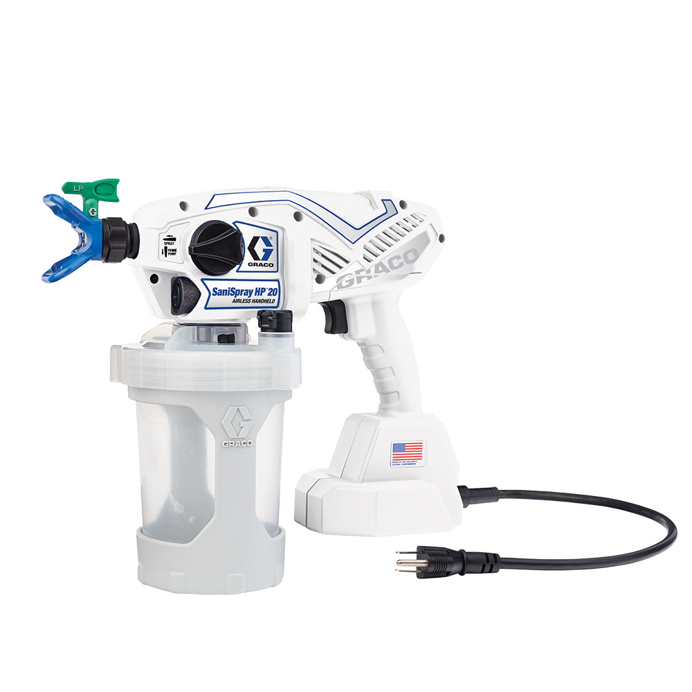 Graco SaniSpray HP 20 - Corded Handheld Sprayer, available at JC Licht in Chicago, IL.