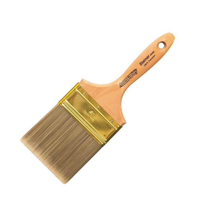 "Arroworthy 4"" Latex Stainer Brush, available at JC Licht in Chicago, IL."