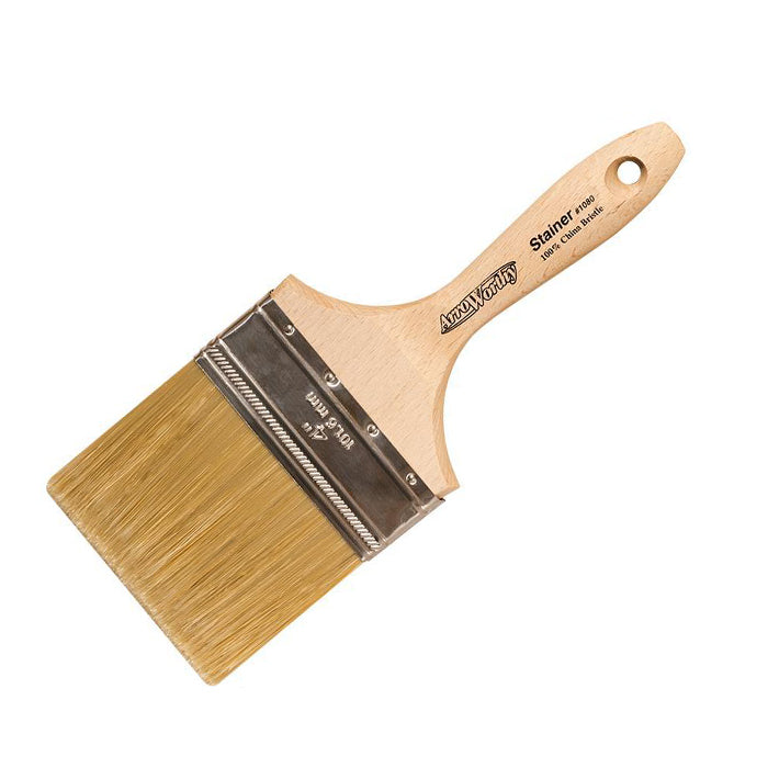 "Arroworthy 4"" Oil Stainer brush, available at JC Licht in Chicago, IL."