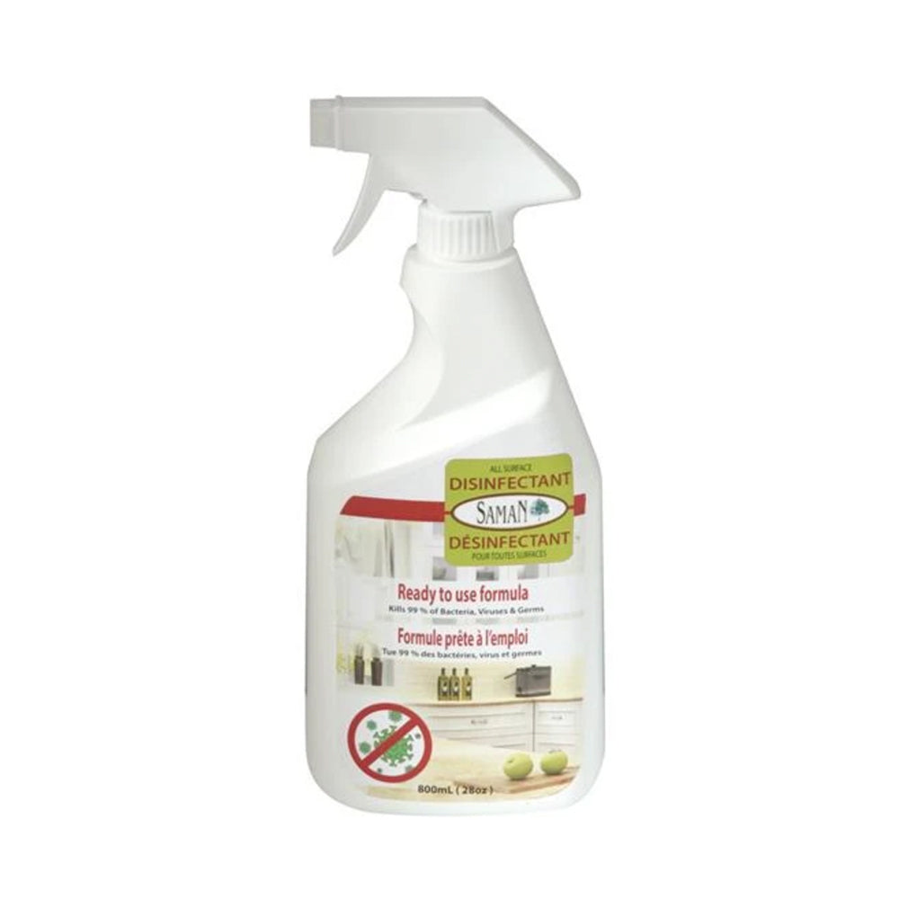 Saman All Surface Disinfectant, available at JC Licht in Chicago, IL.