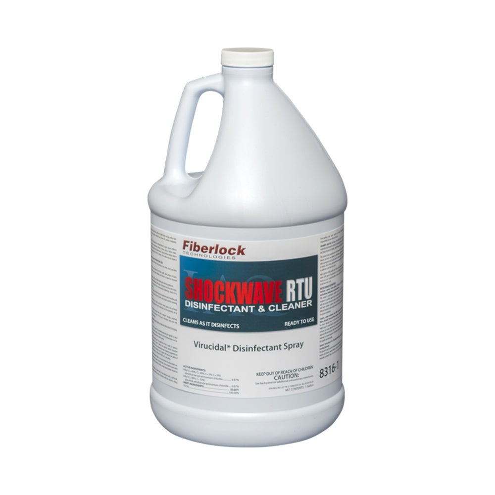 Shockwave RTU Disinfectant & Sanitizer gallon, available at JC Licht in Chicago, IL.