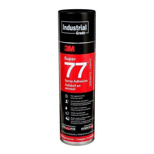 Super 77 Adhesive Spray, available at JC Licht in Chicago, IL.