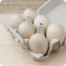 Load image into Gallery viewer, Wooden Eggs - Your Little Dove