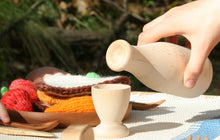 Load image into Gallery viewer, Wooden Milk and Cups - Your Little Dove