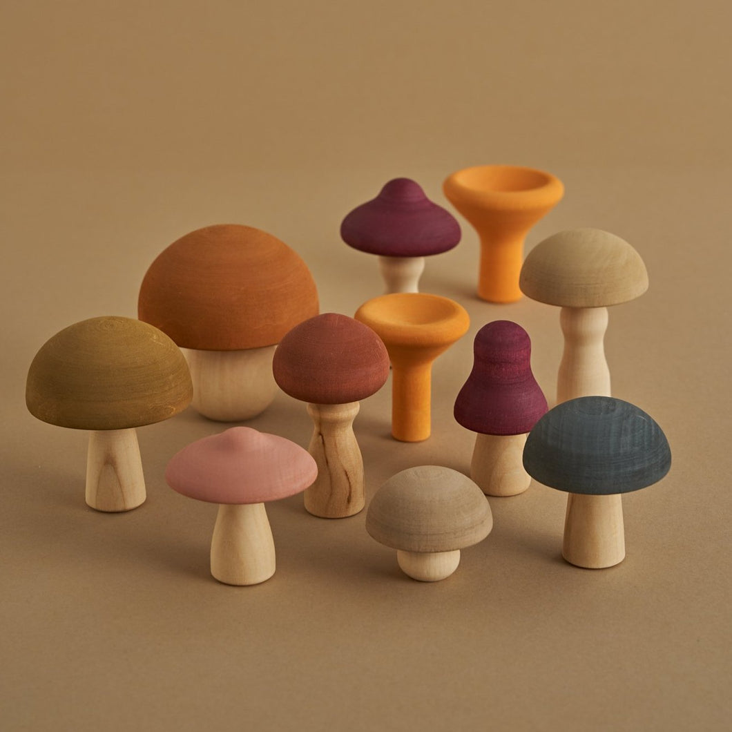 Mushrooms Play Set - Your Little Dove