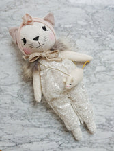 Load image into Gallery viewer, PREORDER: Handmade Linen Cat Dolls