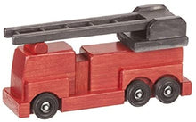 Load image into Gallery viewer, Handmade Wooden Fire Engine - Your Little Dove