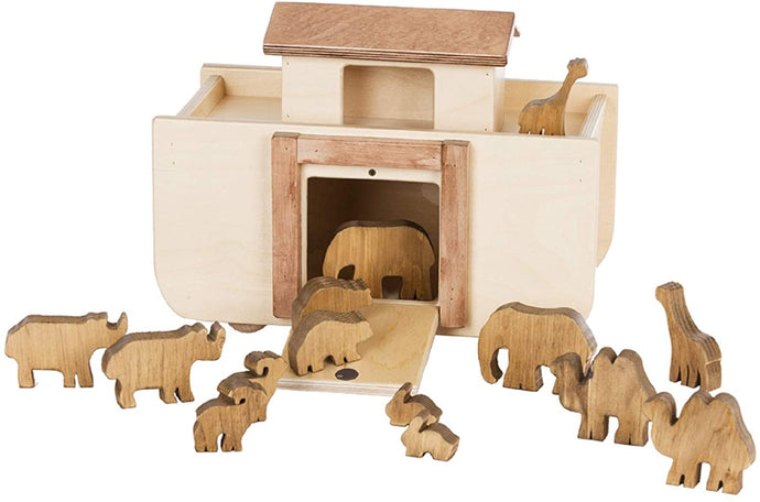 Handmade Noah's Ark + Animals - Your Little Dove