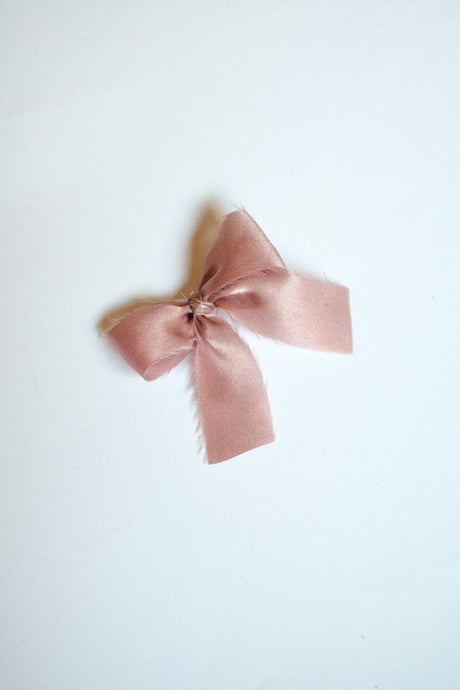 The French Silk Bow in Antique Purple