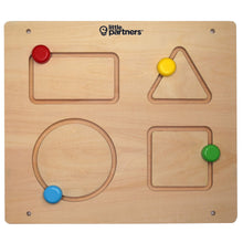 Load image into Gallery viewer, Wooden Shapes Developmental Activity Board