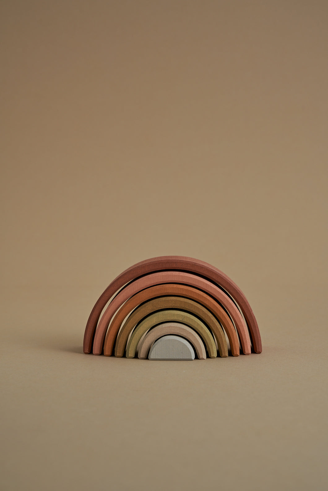 Arch Stacker in Earth Rainbow - Your Little Dove