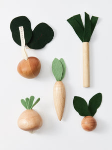 Handmade Veggies Play Food Set - Your Little Dove