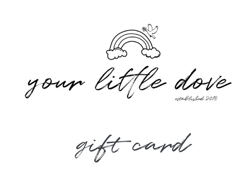 Gift Card - Your Little Dove