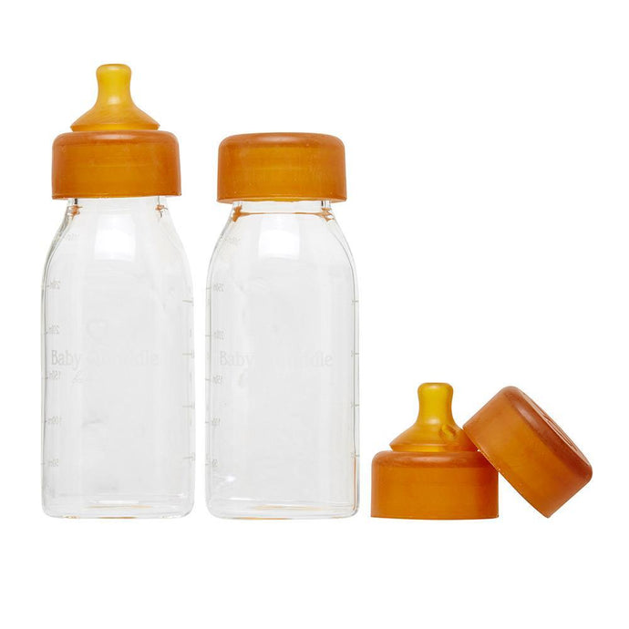 Baby Quoddle Twin Set Bottles in Medium Flow