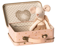 Load image into Gallery viewer, Guardian Angel in Suitcase in Little Sister Mouse