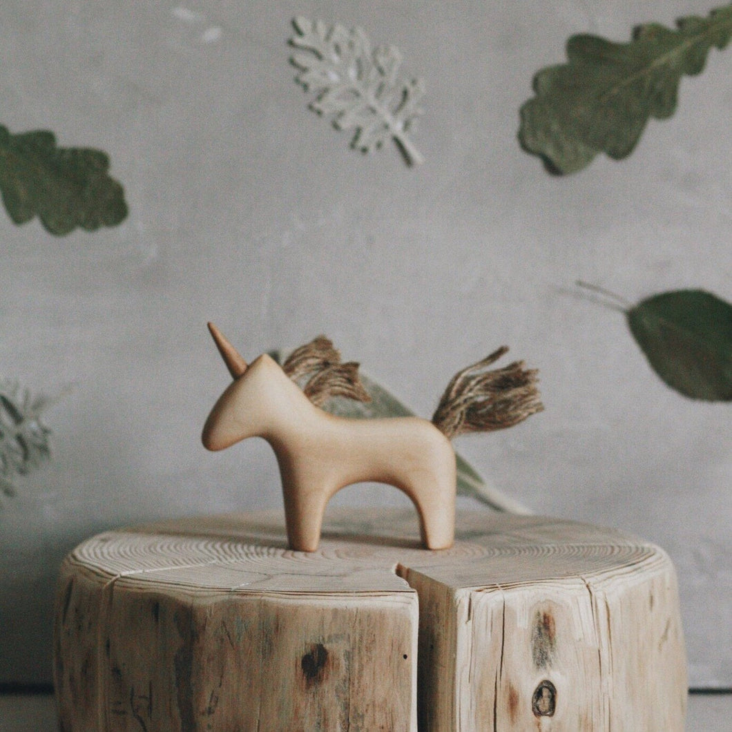 Wooden Unicorn - Your Little Dove