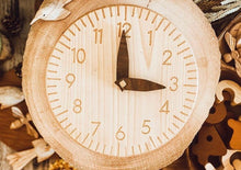 Load image into Gallery viewer, Handmade Wooden Clock