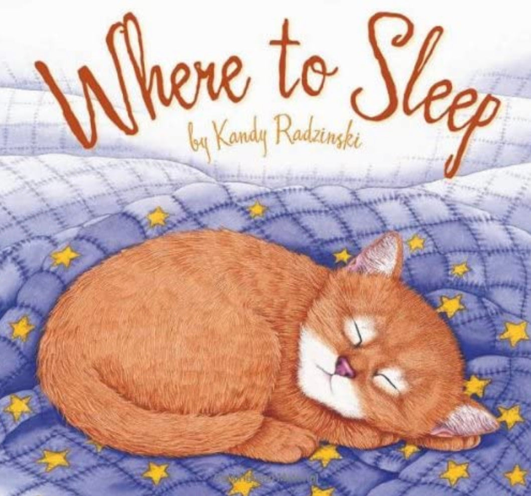 Where to Sleep Board Book