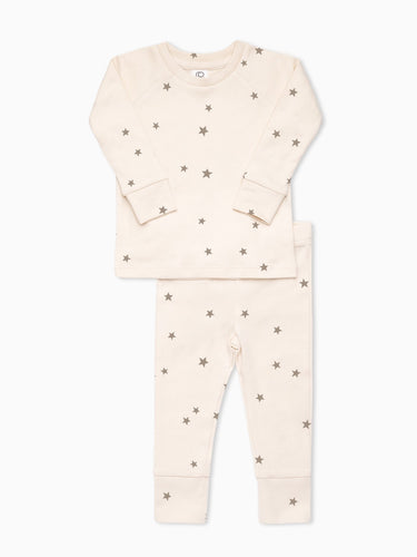 Organic Cotton Long Sleeve Pajamas in Nova