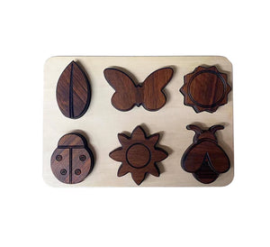 Handmade Wooden Nature Puzzle