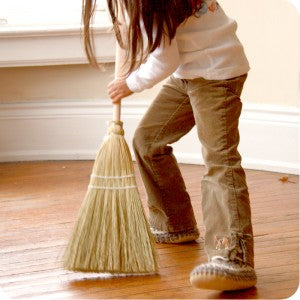 Child's Natural Broom