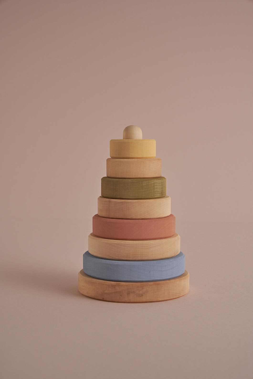 Stacking Tower in Natural Pastel - Your Little Dove